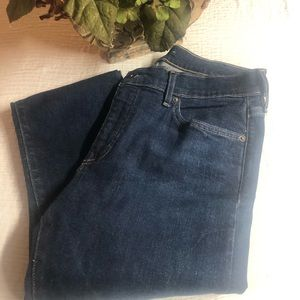 WOMENS LEVIS MADE AND CRAFTED-SKINNY JEANS SZ 8